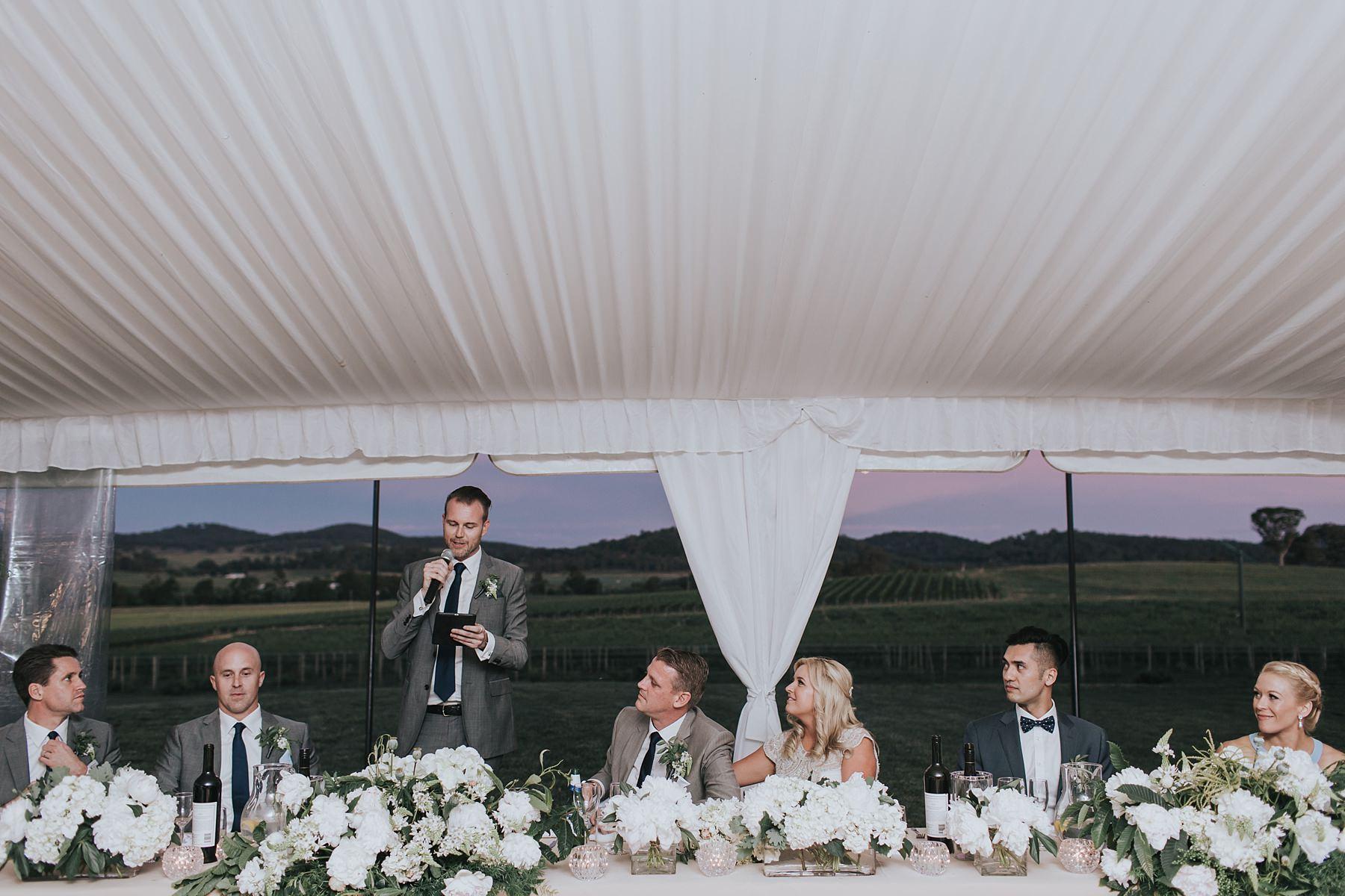 wedding speeches by best man in mudgee