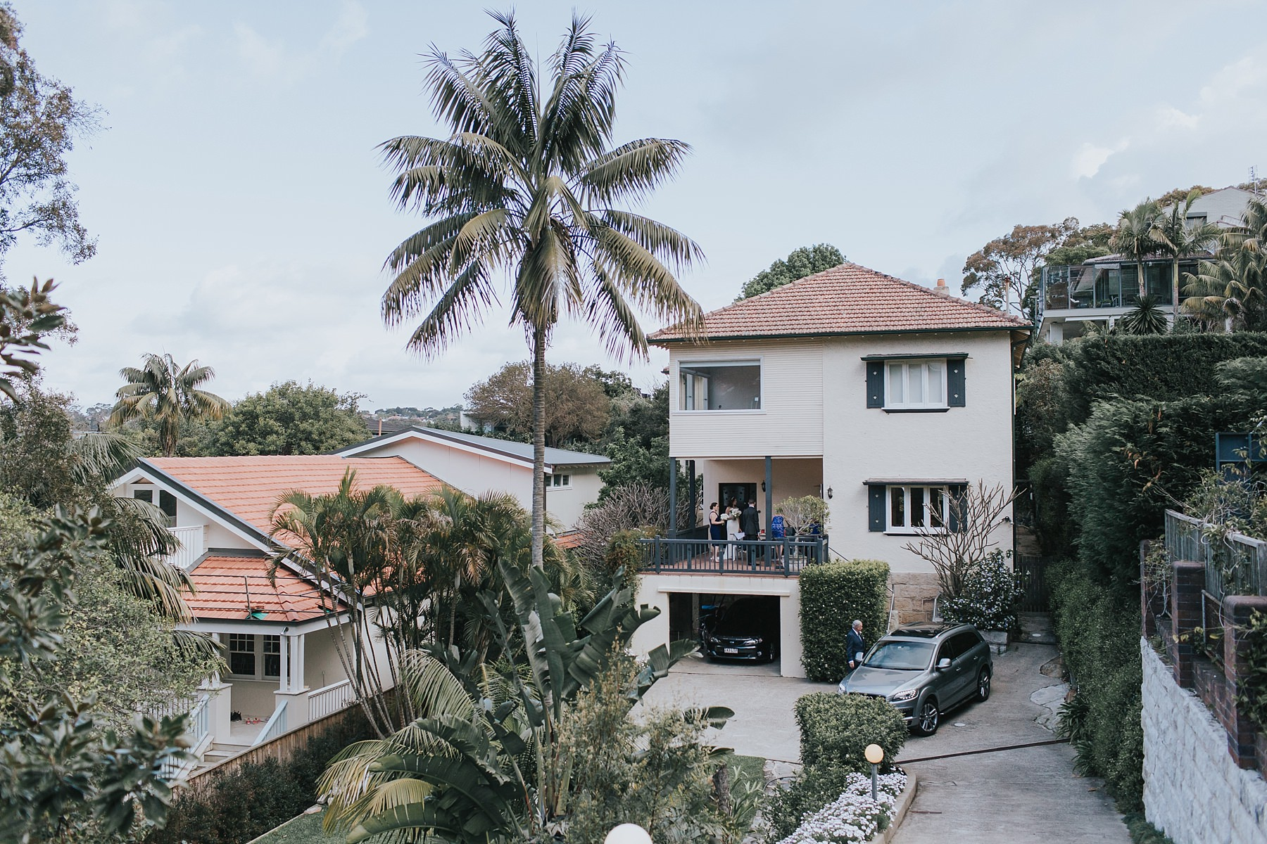 mosman beach house used for wedding day