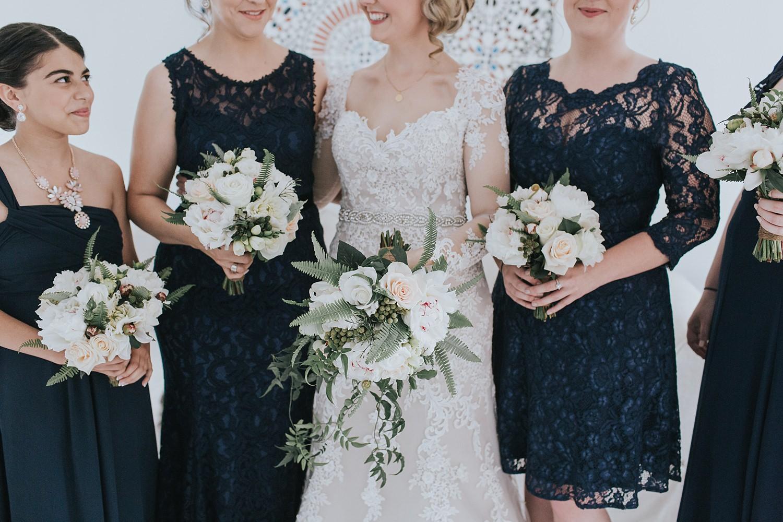 bridal party details for sydney wedding