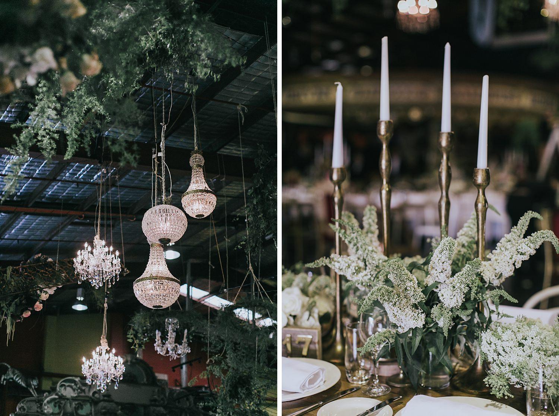 wedding reception styling by she designs