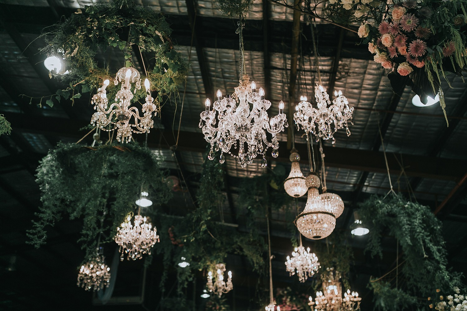 rustic wedding reception by she designs events