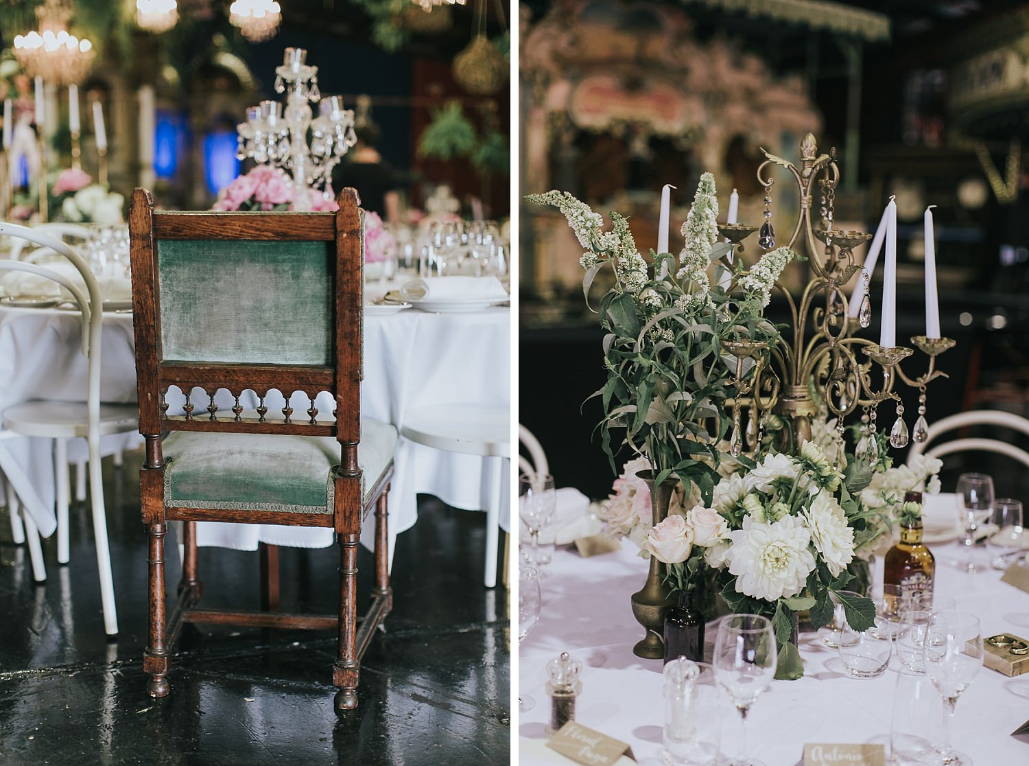 circus themed wedding styling by she designs