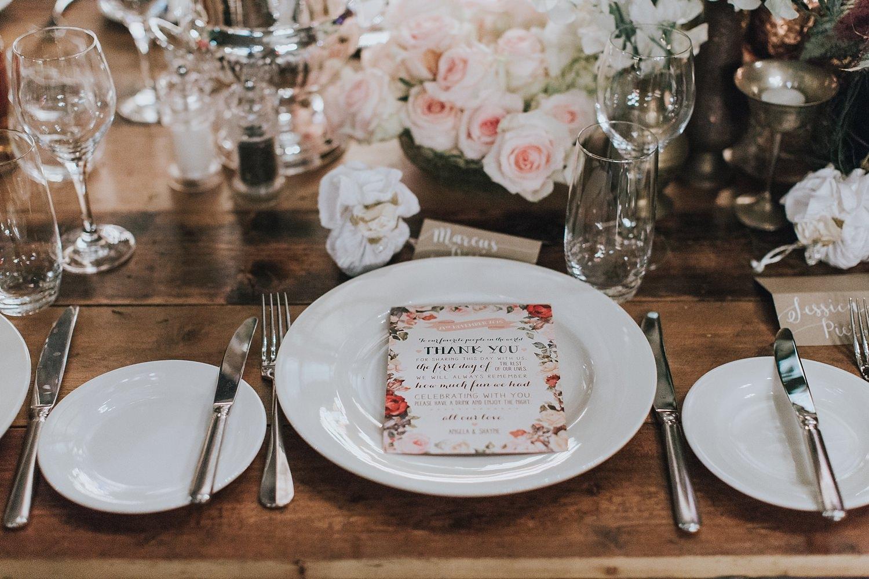 sydney wedding reception by she designs
