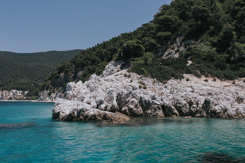 beautiful waters of the aegean sea