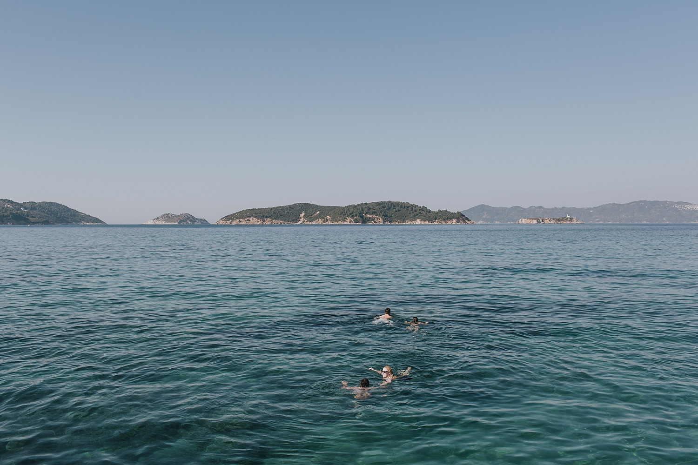 skiathos water sports before wedding day