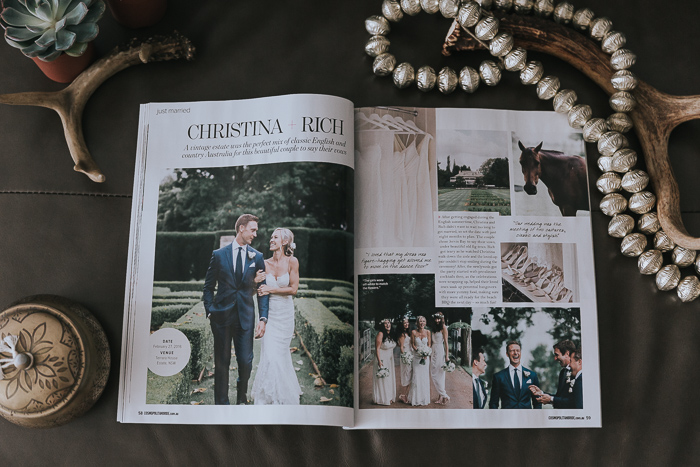 Cosmo Bride Real Wedding Feature | Christina & Rich
