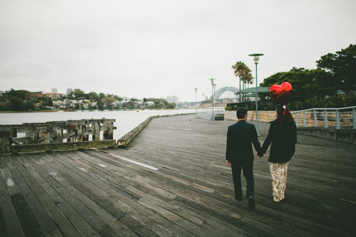 Sydney Harbour Engagement Photographer