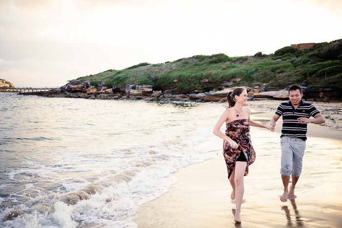 australian-beach-engagement