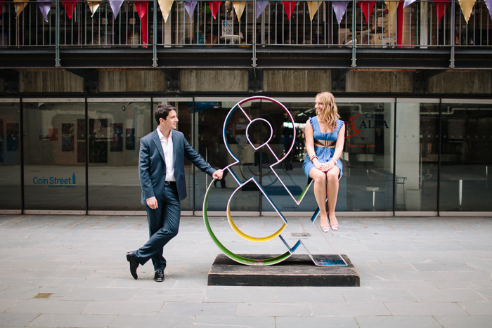 London South Bank Engagement Photography | Hayley & Giles