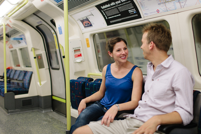 london-underground-tube-engagement-photography