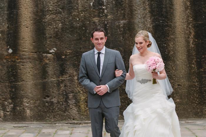 bride-walking-to-groom-first-look-wedding