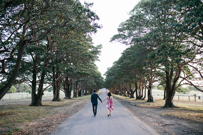 walking-down-the-long-driveway-at-yaralla-estate