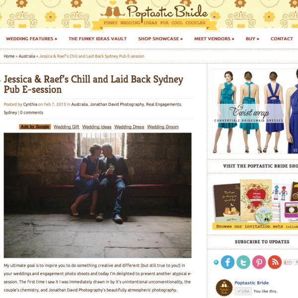 Poptastic Bride | Jessica & Raef