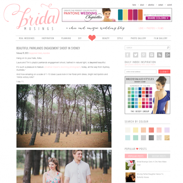 Bridal Musings | Tim & Laura