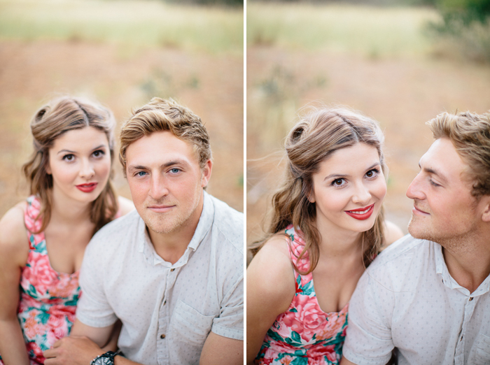 vintage-engagement-session