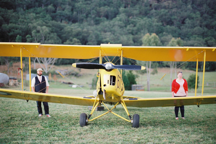 A Vintage Airfield Biplane Engagement | Andrew & Liana