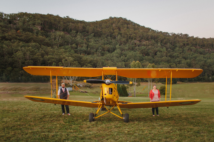 biplane-engagement-photography-sydney