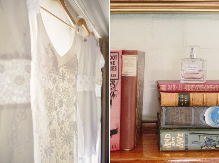 bridal preparations at bendooley cottage
