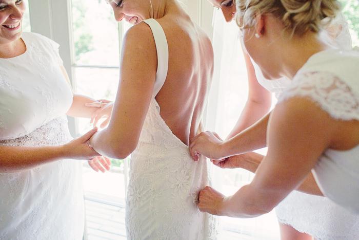 southern highlands bride preparations