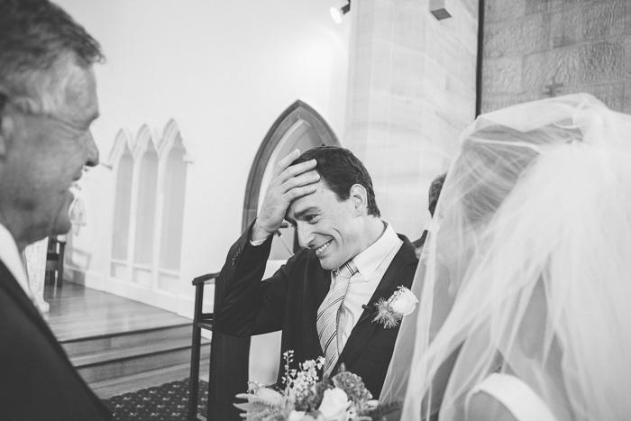 Bowral Groom Receives His Bride