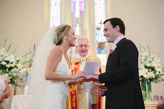 wedding rings exchanged in berrima wedding