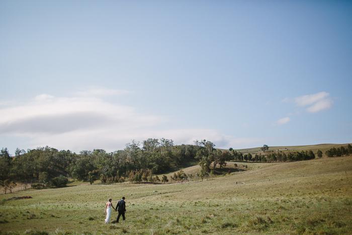 rustic outdoor wedding photography