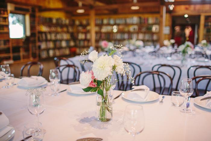 bendooley estate book barn reception