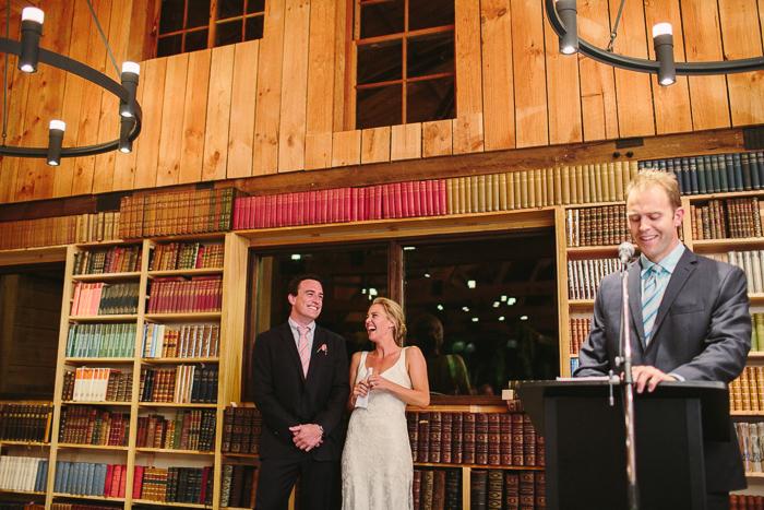 happy bride and groom in berrima wedding