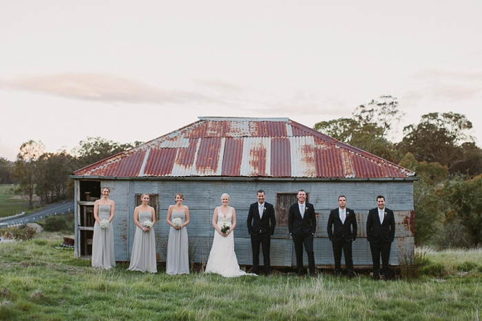 bridal-party-with-old-tin-shed
