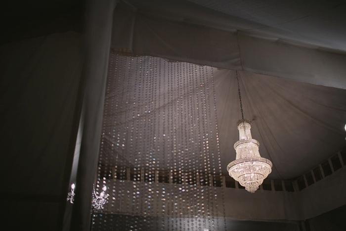 chandelier wedding photo reception