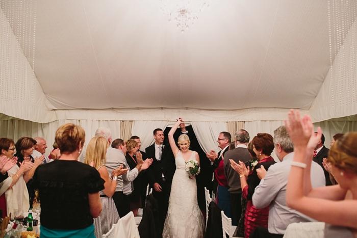 wedding-reception-bride-and-groom entrance