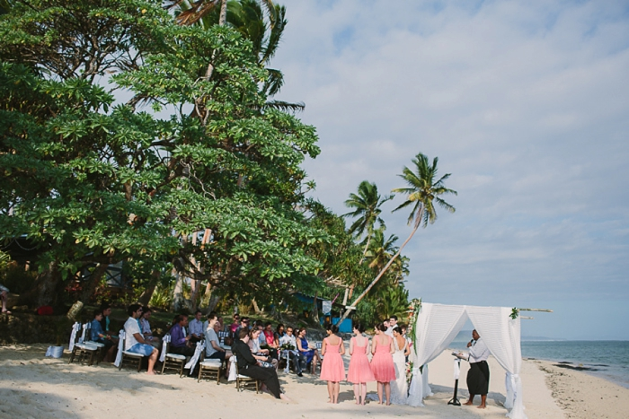 Fijian Wedding Ceremony