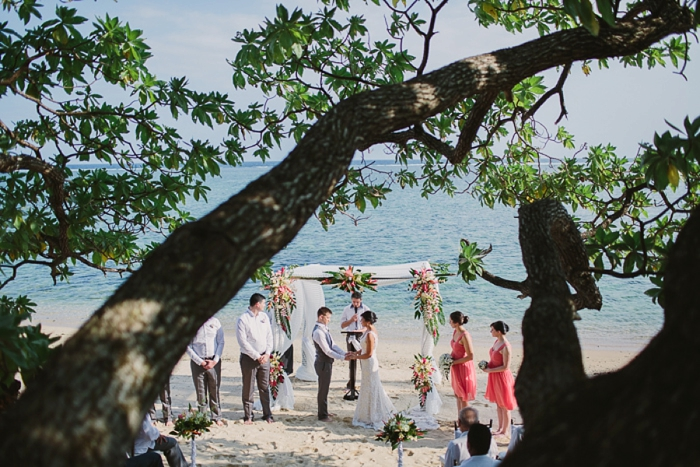 Fiji Coral Coast Wedding Photographer