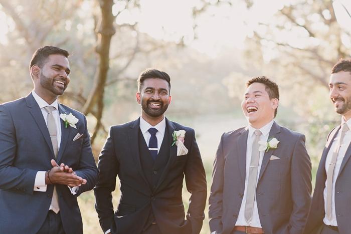 Dapper Groomsmen at Sydney Wedding