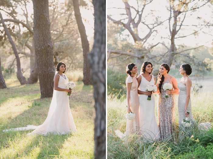 Sunset photos with Bride and bridal party