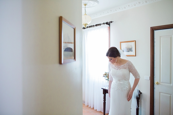 bridal preparation at bowral wedding