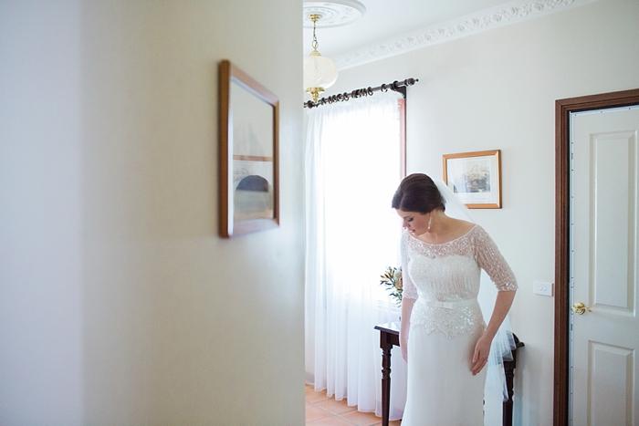 bridal preparation at bowral wedding