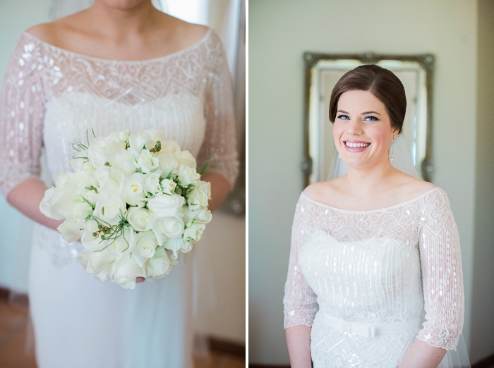 bowral bride in her lace dress