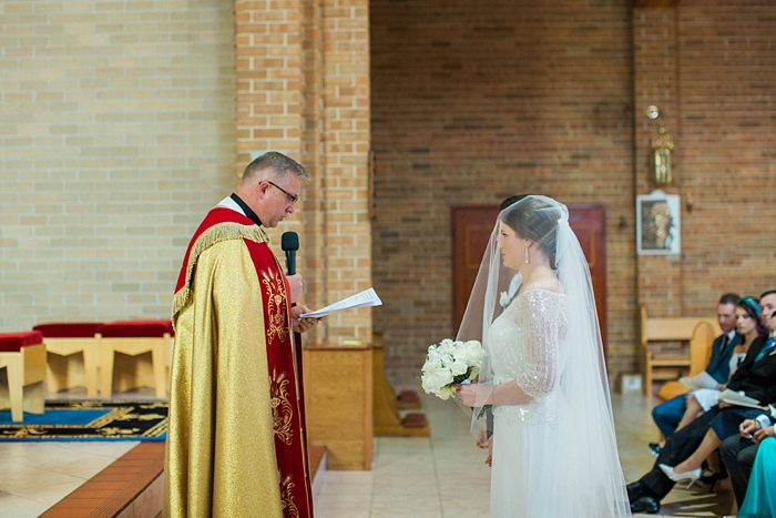 wedding vows during bowral ceremony
