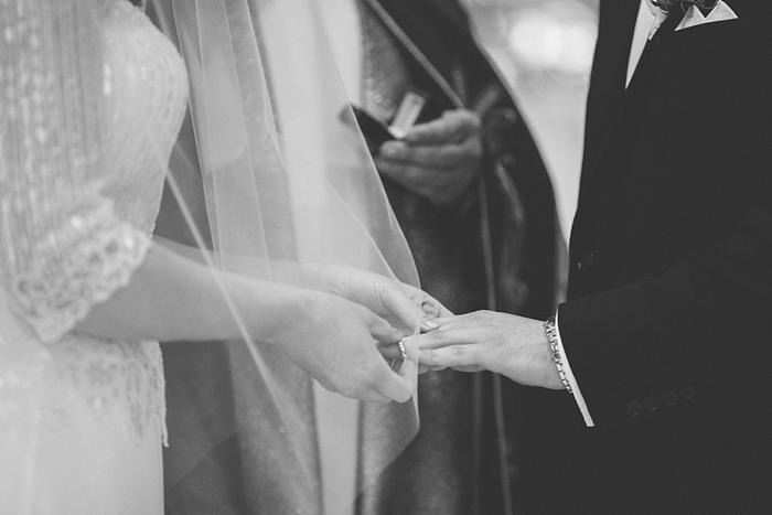 wedding photography during catholic ceremony