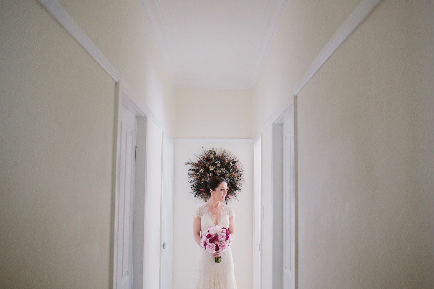 Hunter Valley Bride Getting ready at home in Central Coast