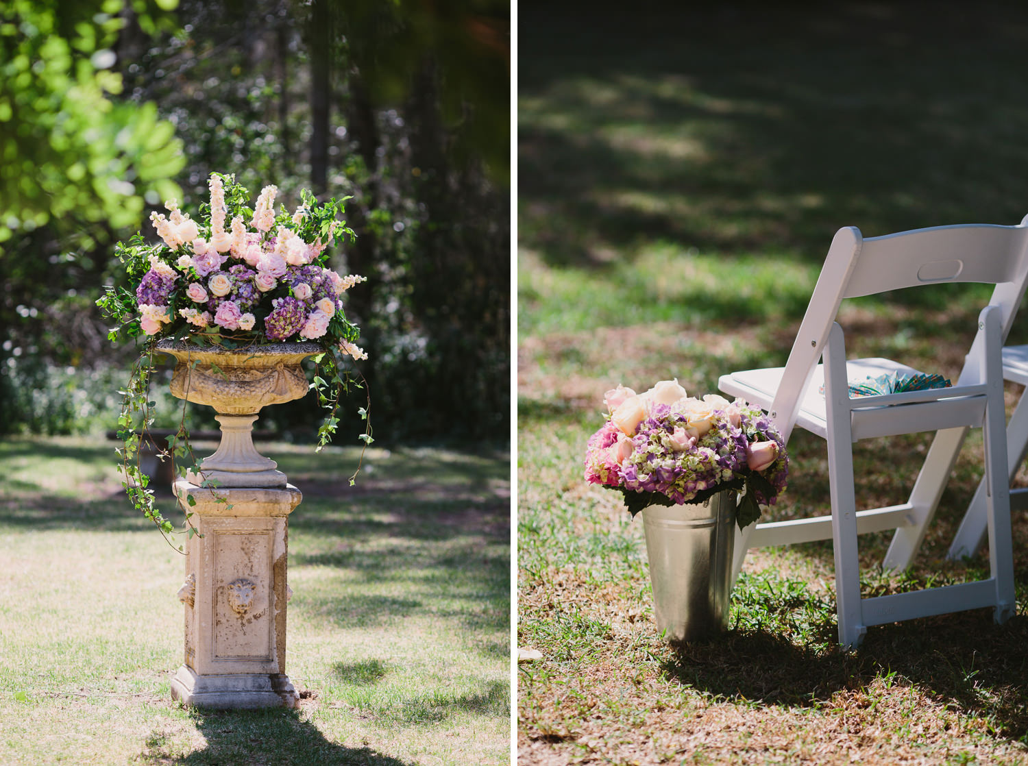 Wedding Ceremony details in the Hunter Valley