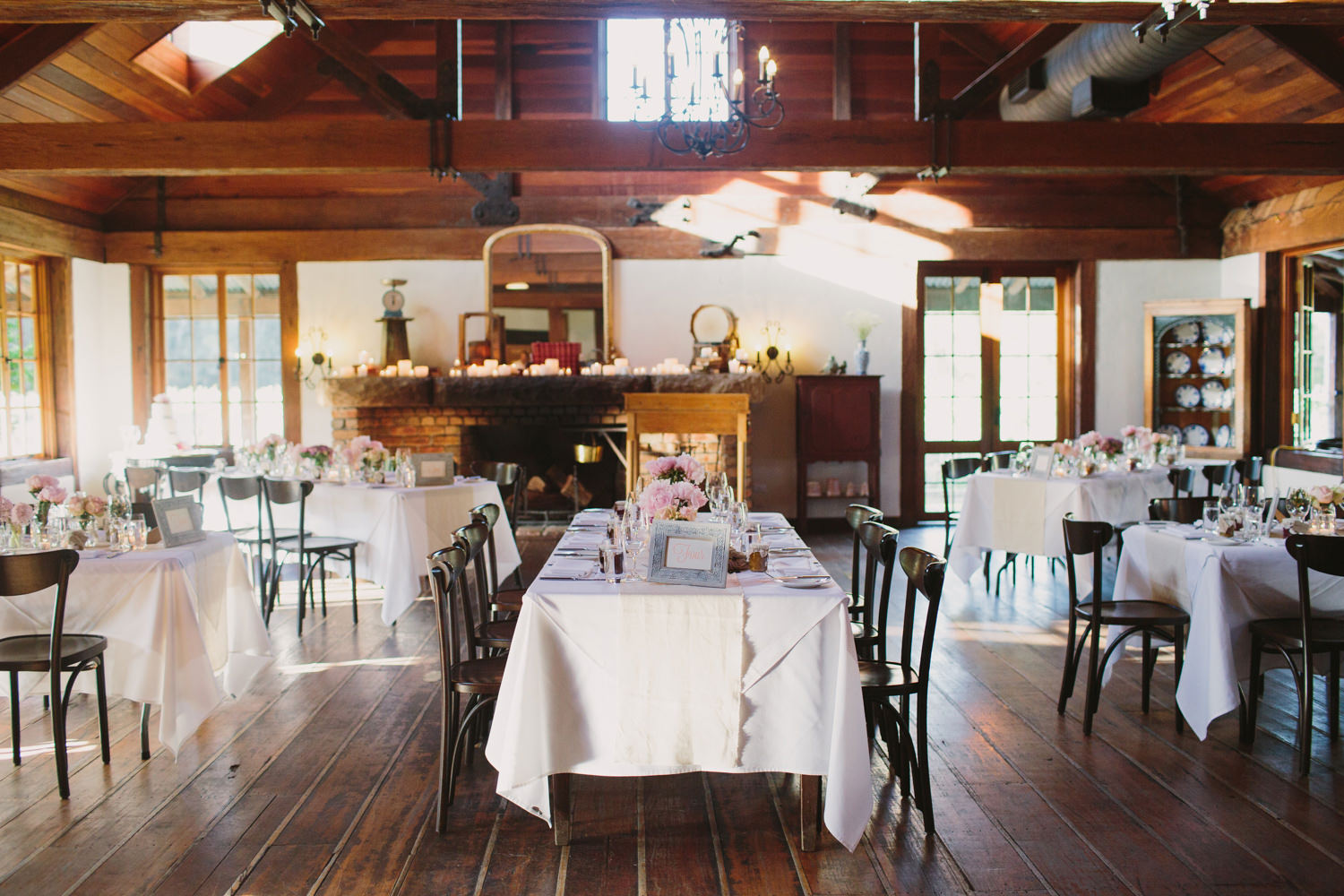 Beautifully styled wedding reception at Circa 1876 Hunter Valley