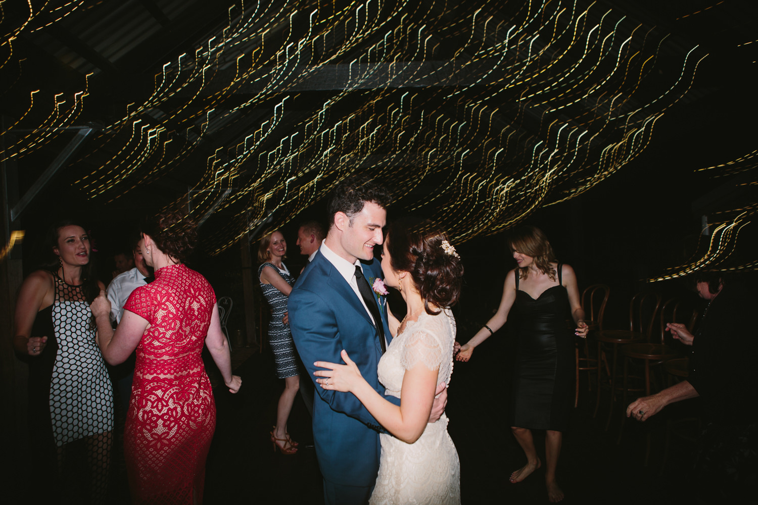 Bride and Groom enjoy dancing together in Hunter Valley