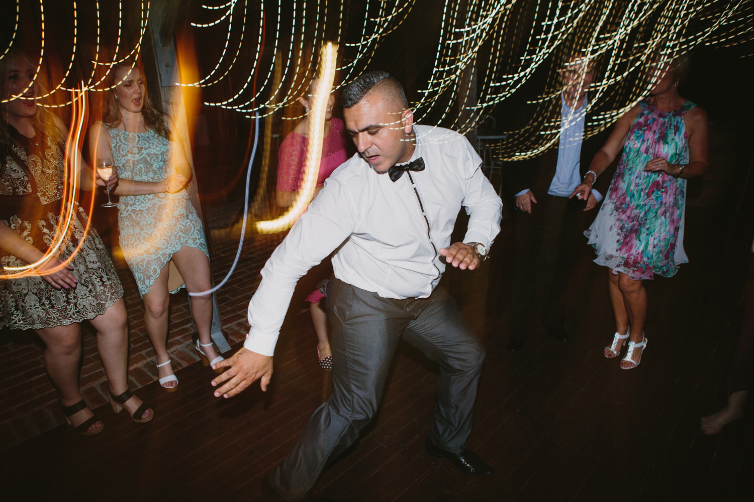 Fun Party Photography at Wedding