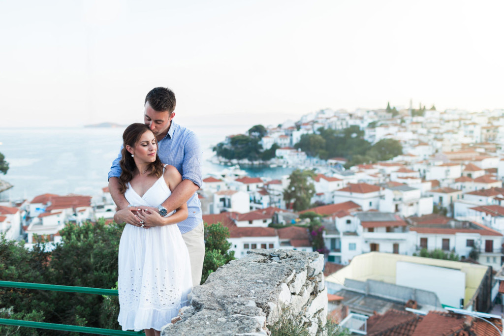 skiathos engagement photography