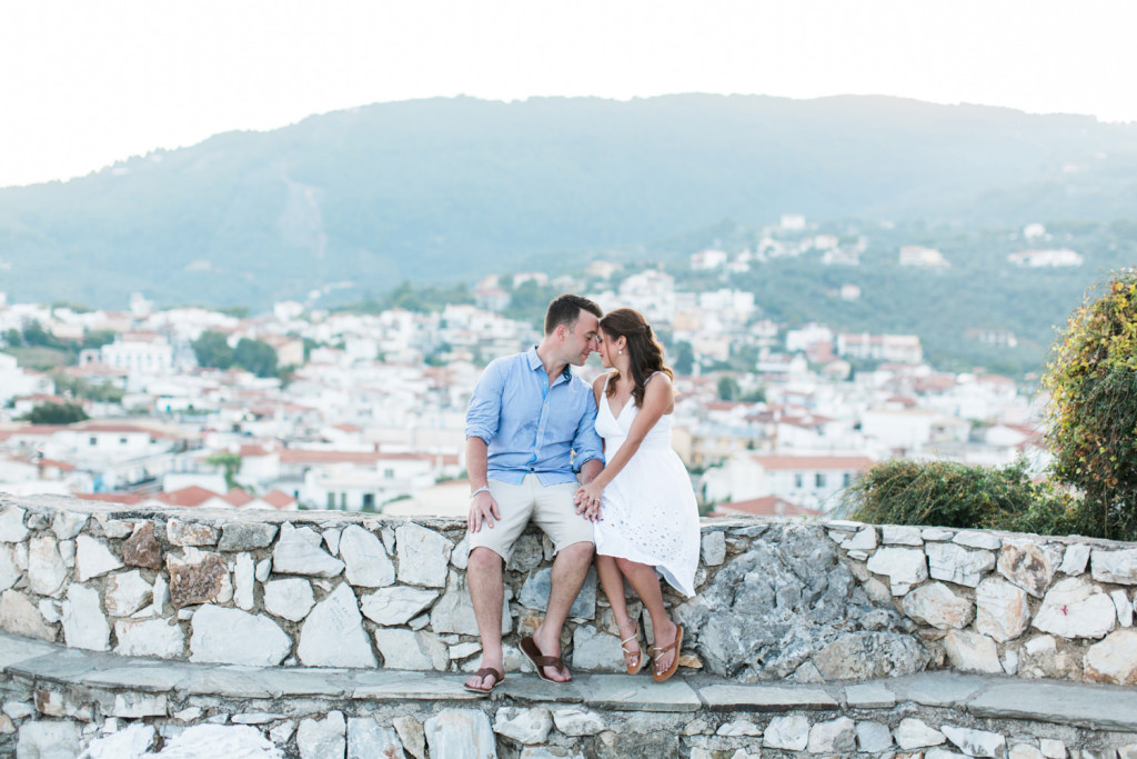 skiathos engagement photography by jonathan david