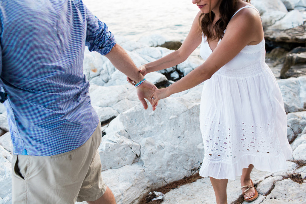 skiathos engagement session