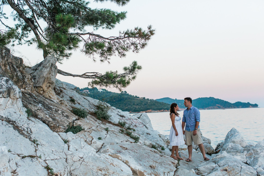 engagement photography in the greek islands