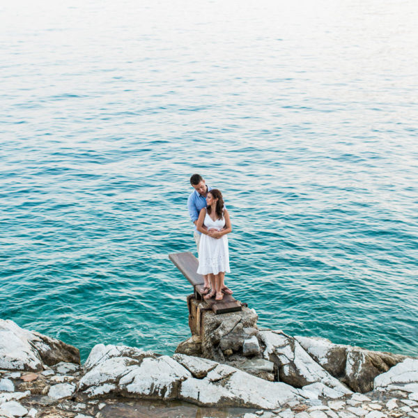 Tash & Dimitri | Skiathos Engagement Photography